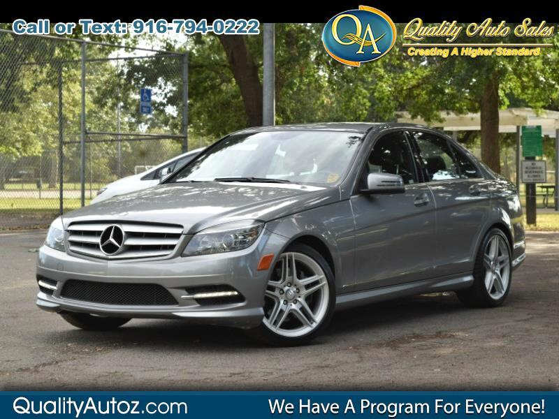 2011 Mercedes-Benz C-Class C 350 Sport Sedan 4D