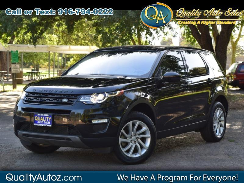 2017 Land Rover Discovery Sport HSE Sport Utility 4D