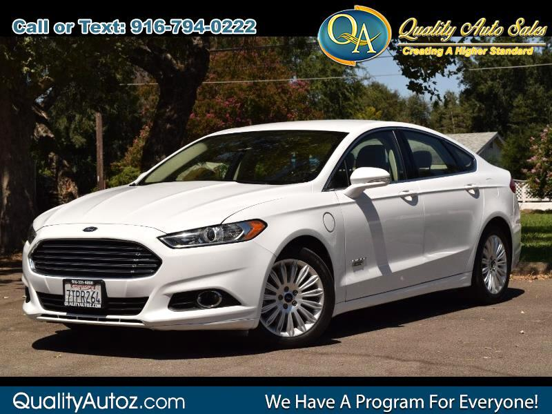 2016 Ford Fusion Energi Plug-In Hybrid SE Luxury Sedan 4D