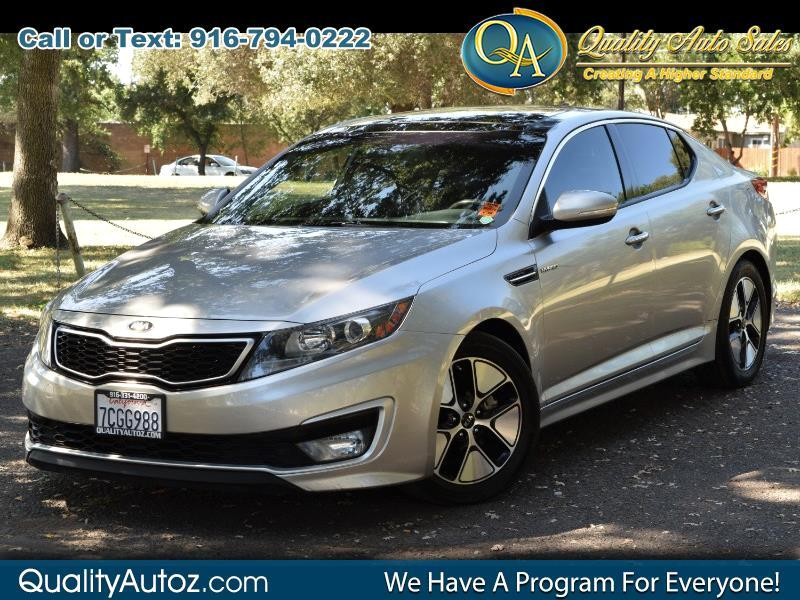 2013 Kia Optima Hybrid EX Hybrid Sedan 4D