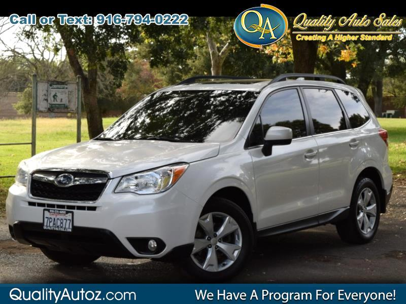 2016 Subaru Forester 2.5i Limited Sport Utility 4D