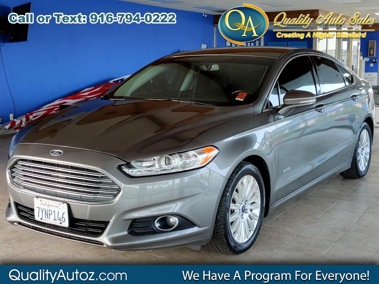 Ford Fusion Energi 4dr Sdn SE Luxury 2013