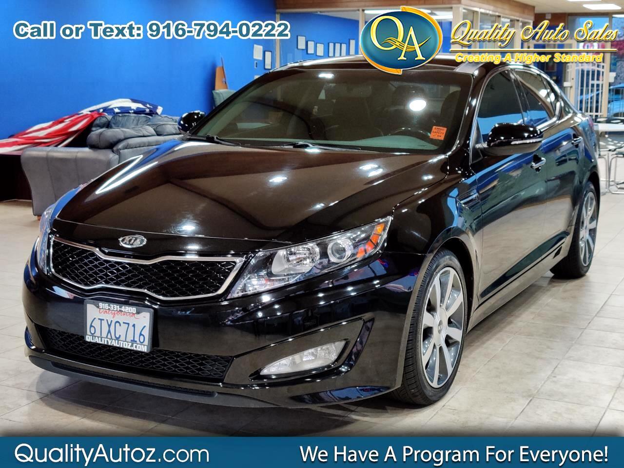 Kia Optima 4dr Sdn 2.0T Auto SX 2012