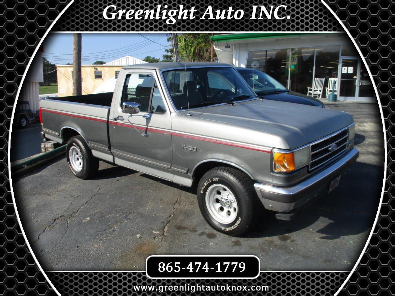 "1990 Ford F-150 Styleside ""S"" 117"" WB"