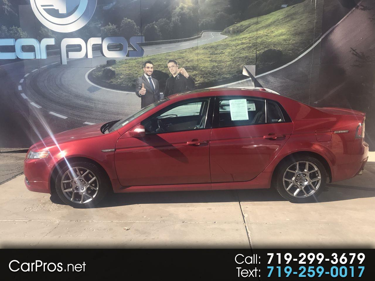 2007 Acura TL 4dr Sdn MT Type-S