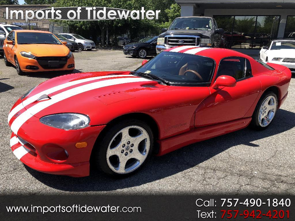2000 Dodge Viper 2dr GTS Coupe