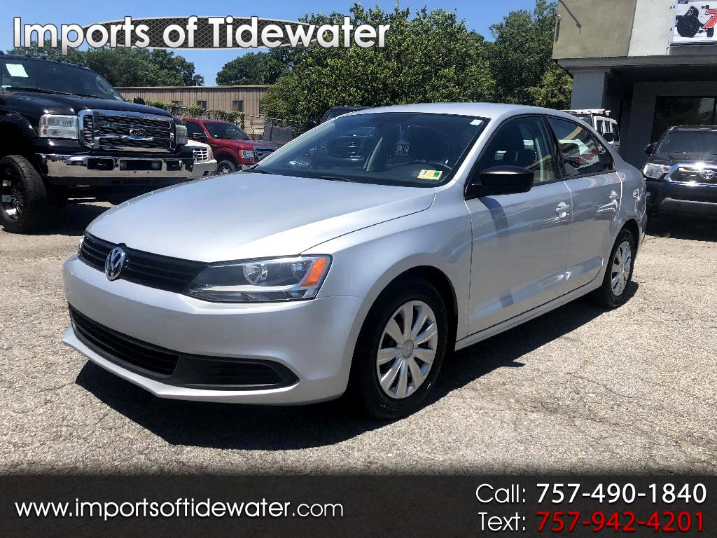 2012 Volkswagen Jetta Sedan 4dr Manual S