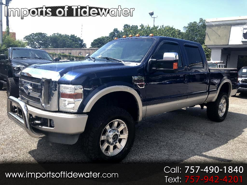 "2008 Ford Super Duty F-250 SRW 4WD Crew Cab 156"" King Ranch"