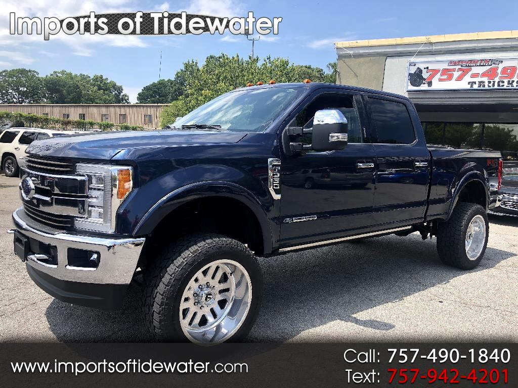 2017 Ford Super Duty F-350 SRW King Ranch 4WD Crew Cab 6.75' Box