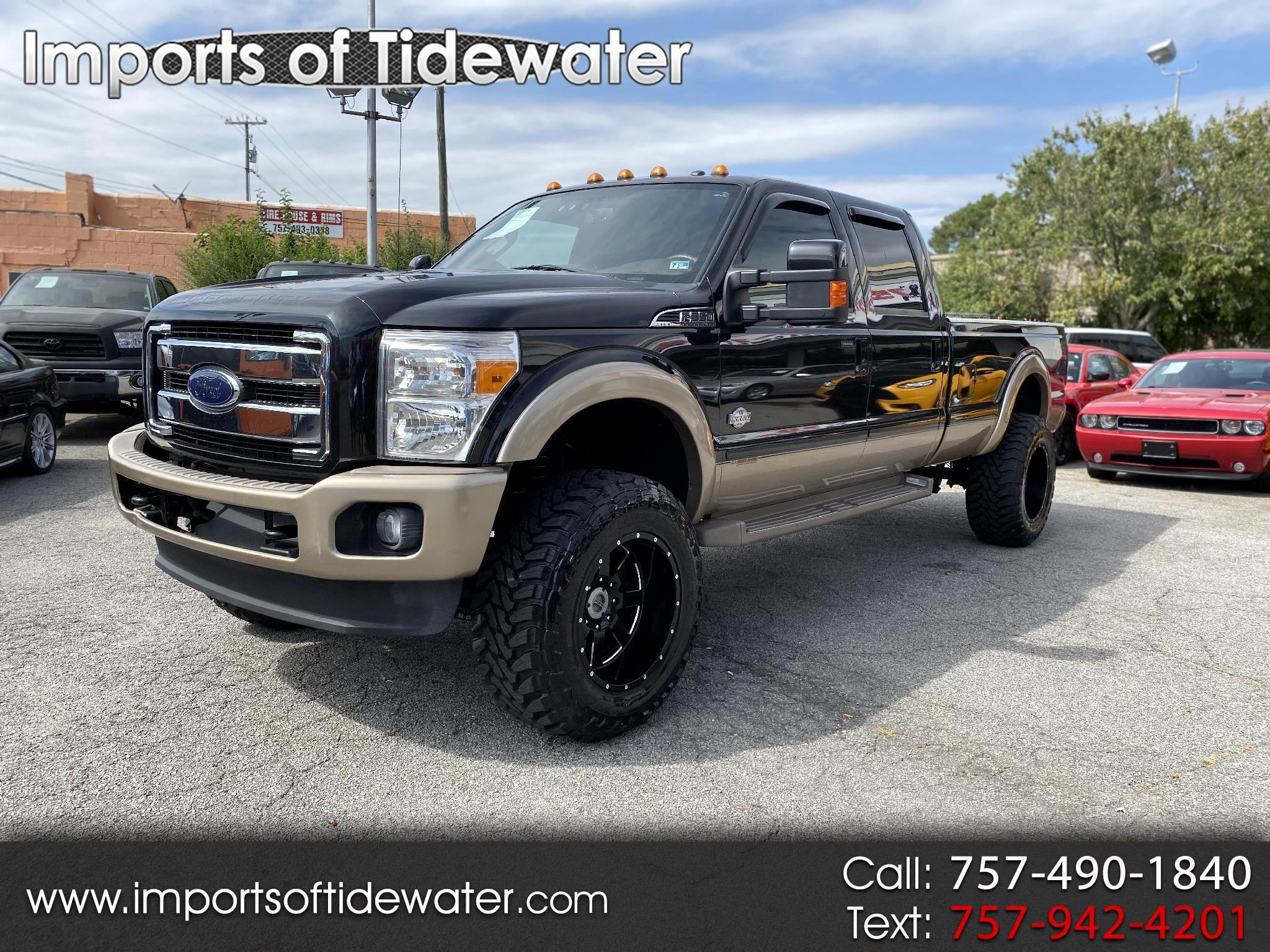"Ford Super Duty F-350 SRW 4WD Crew Cab 172"" King Ranch 2014"