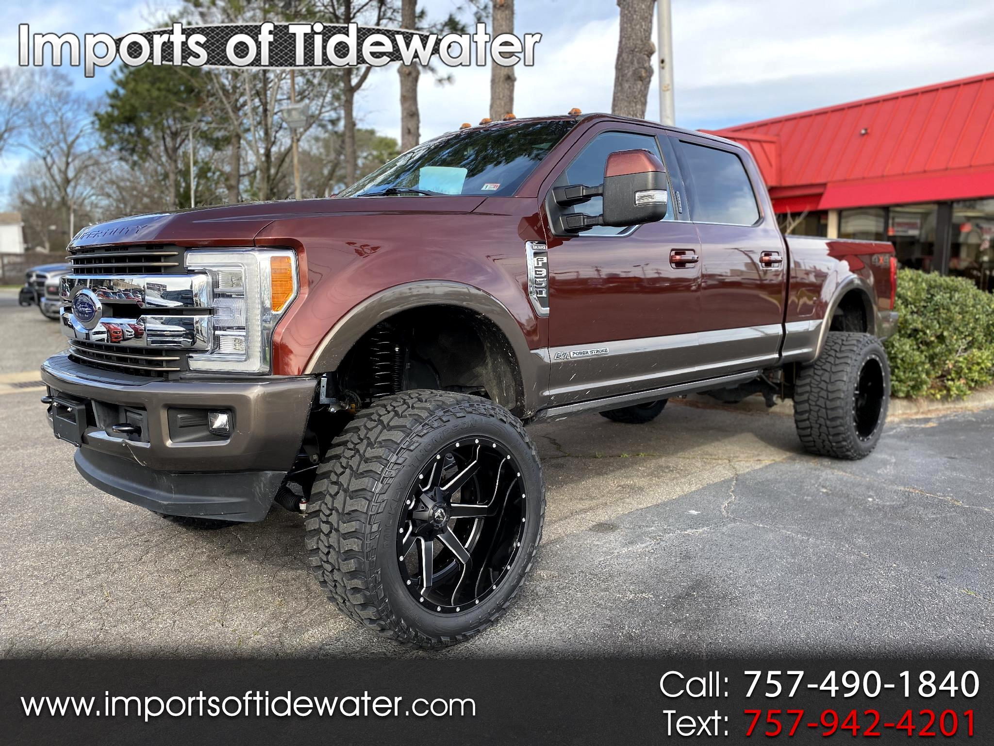 Ford Super Duty F-350 SRW King Ranch 4WD Crew Cab 6.75' Box 2017