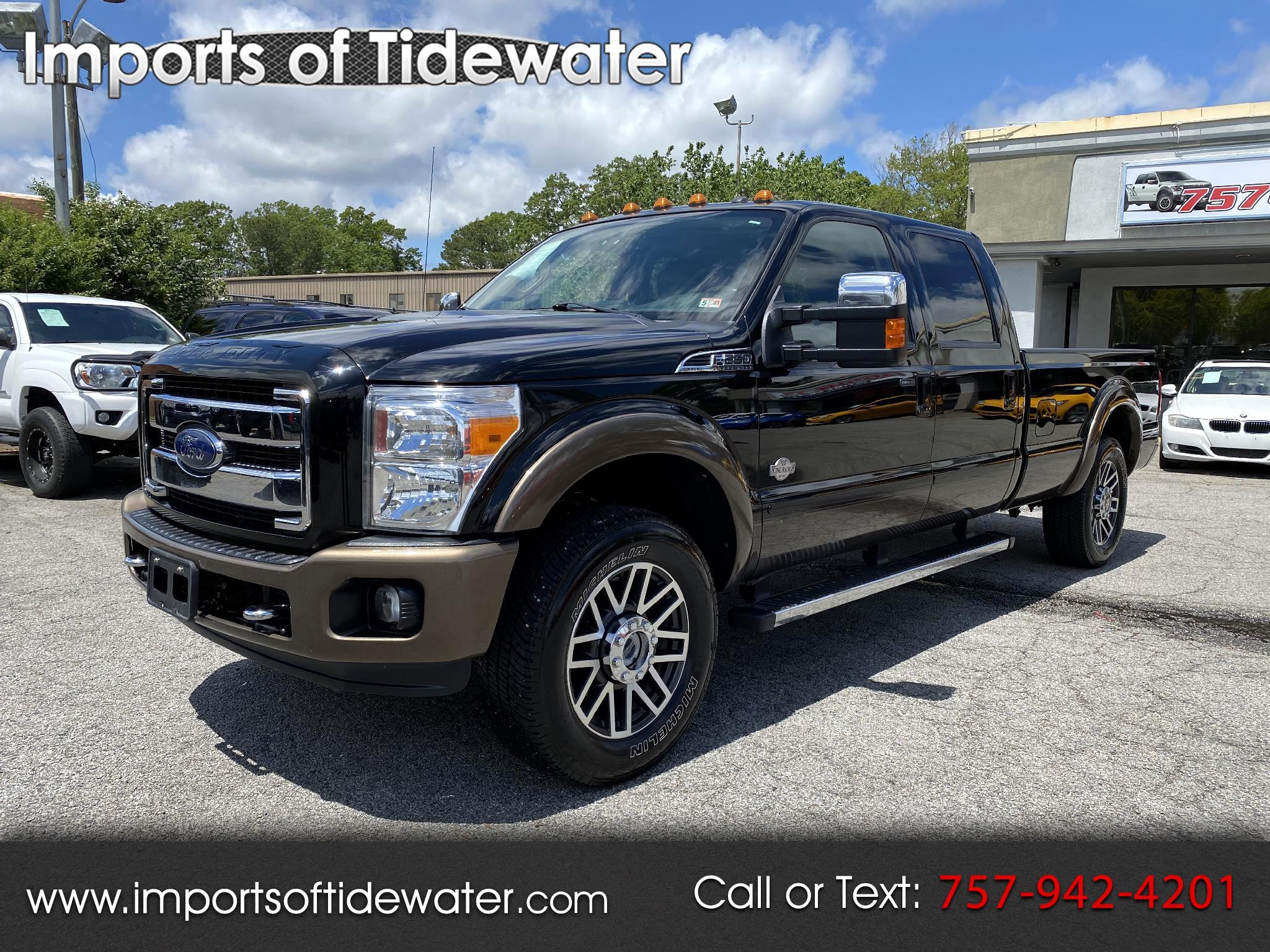 "Ford Super Duty F-250 SRW 4WD Crew Cab 172"" King Ranch 2016"