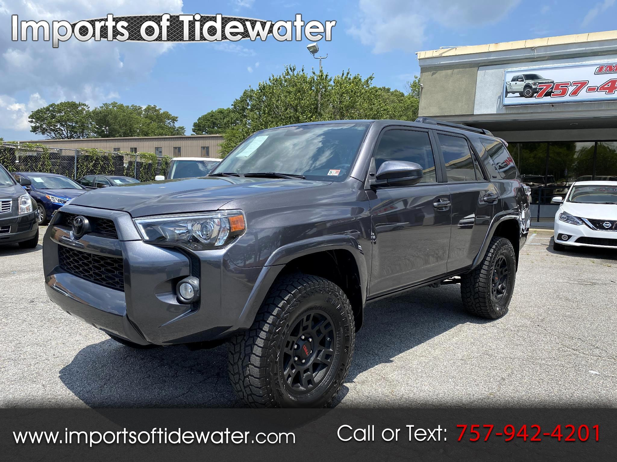Toyota 4Runner 4dr Auto 4WD SR5 3.4L 2018