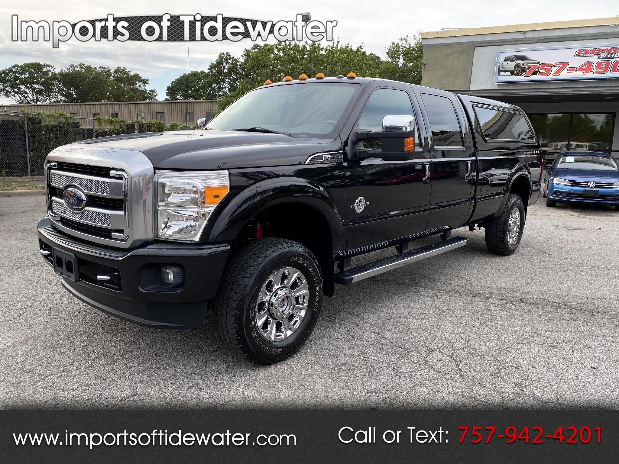 "Ford Super Duty F-350 SRW 4WD Crew Cab 172"" Platinum 2014"