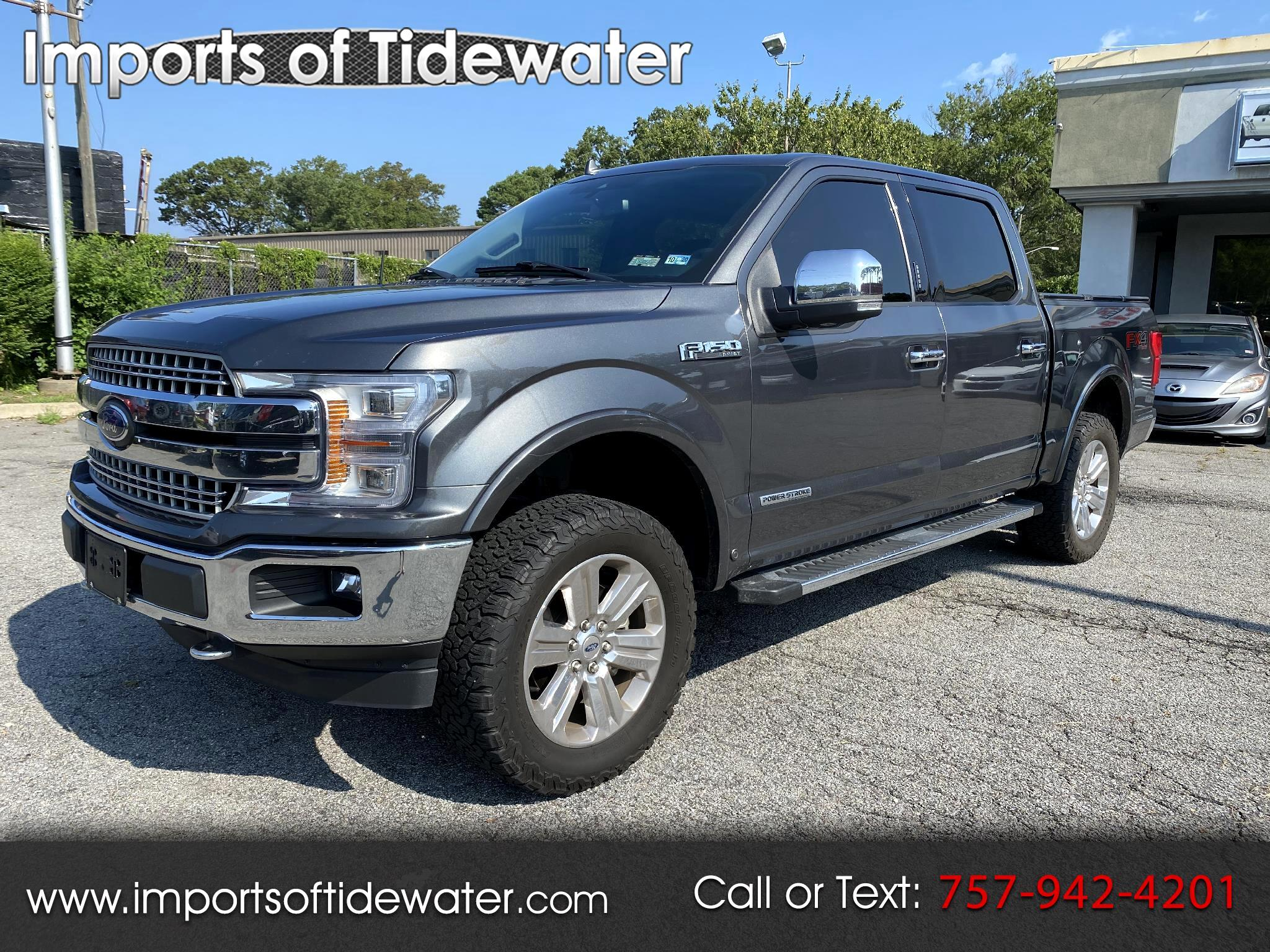 "Ford F-150 4WD SuperCrew 145"" Lariat 2018"
