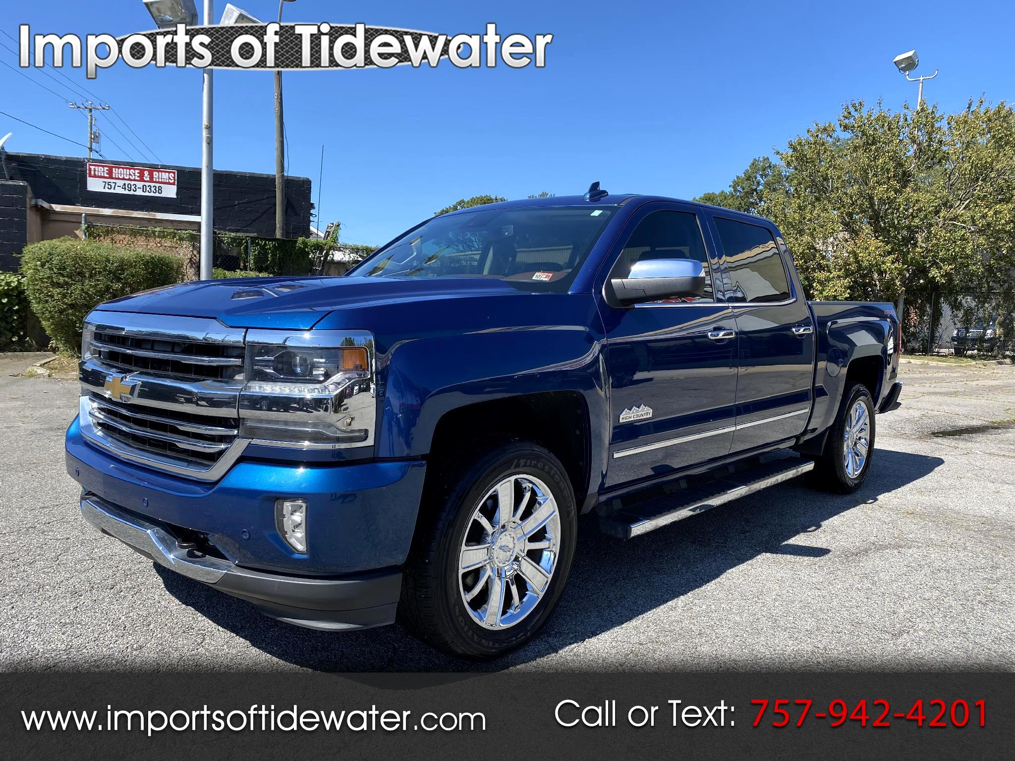 Chevrolet Silverado 1500 High Country Crew Cab 4WD 2016