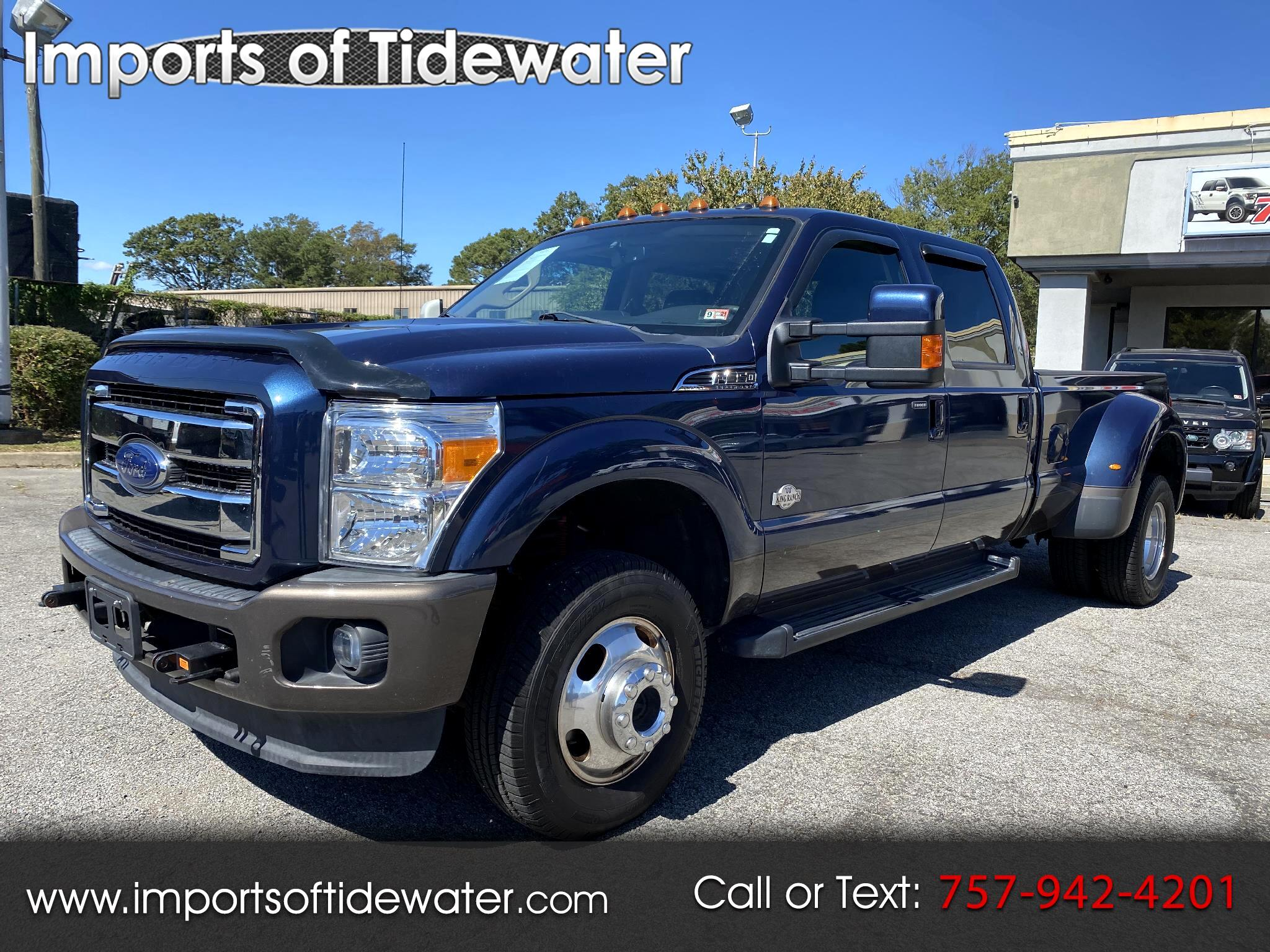 "Ford Super Duty F-350 DRW 4WD Crew Cab 172"" King Ranch 2016"