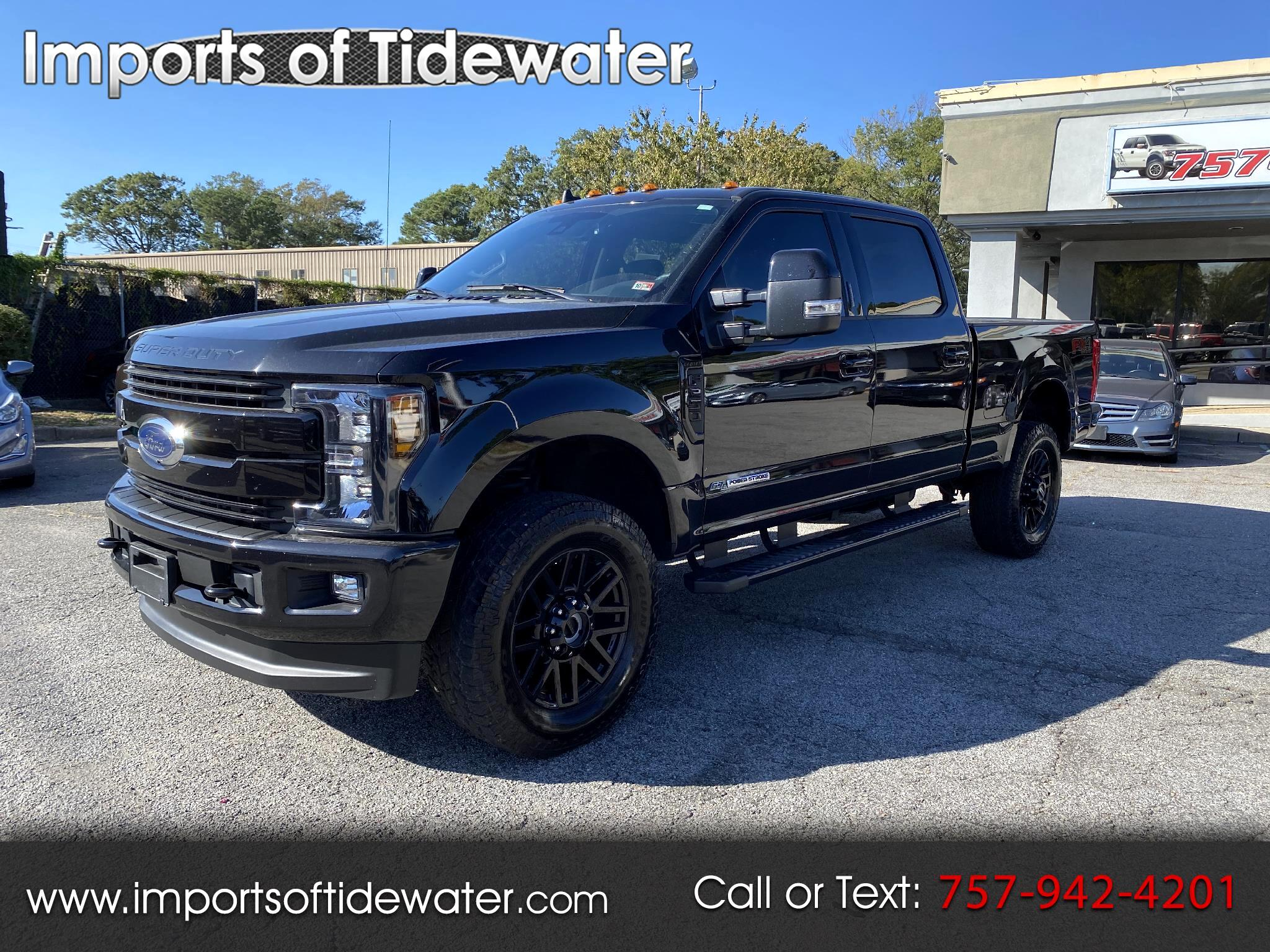 Ford Super Duty F-250 SRW Lariat 4WD SuperCab 6.75' Box 2019