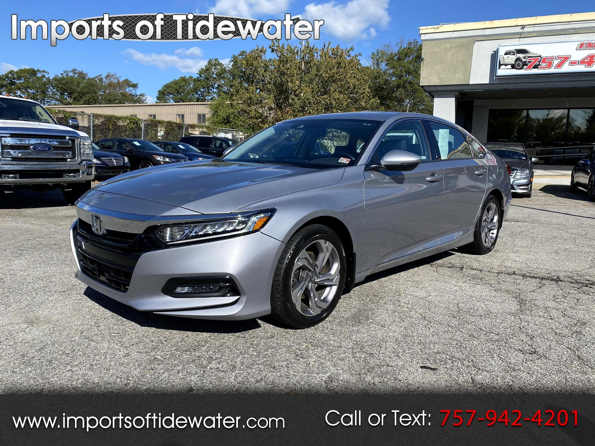 Honda Accord Sedan EX-L 1.5T CVT 2018