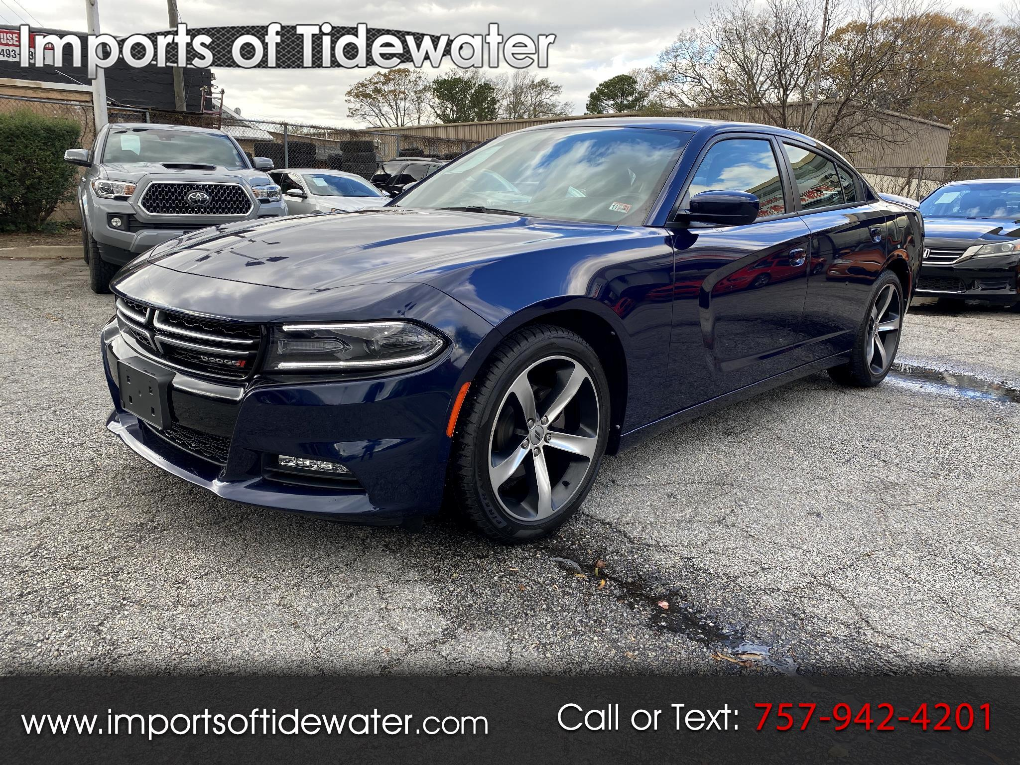 Dodge Charger 4dr Sdn Rallye Plus RWD 2017