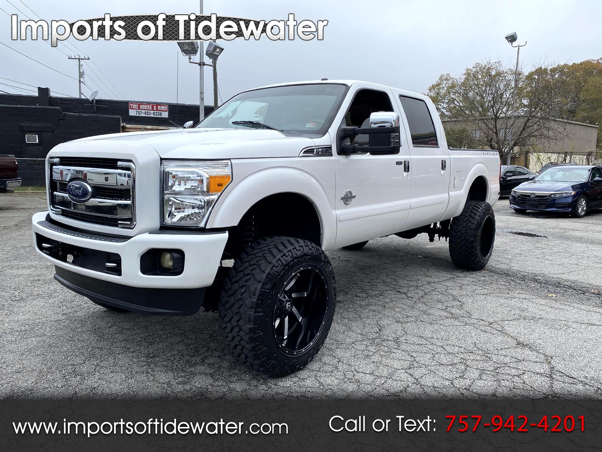 "Ford Super Duty F-250 SRW 4WD Crew Cab 156"" Platinum 2016"