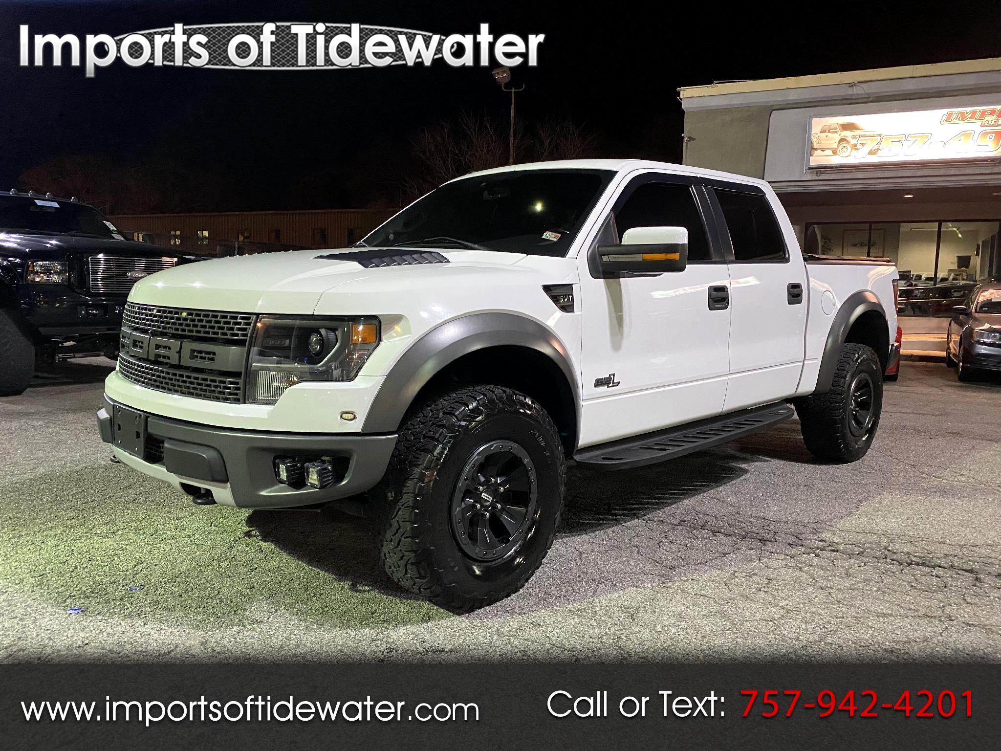 Ford F-150 Raptor 4WD SuperCrew 5.5' Box 2012