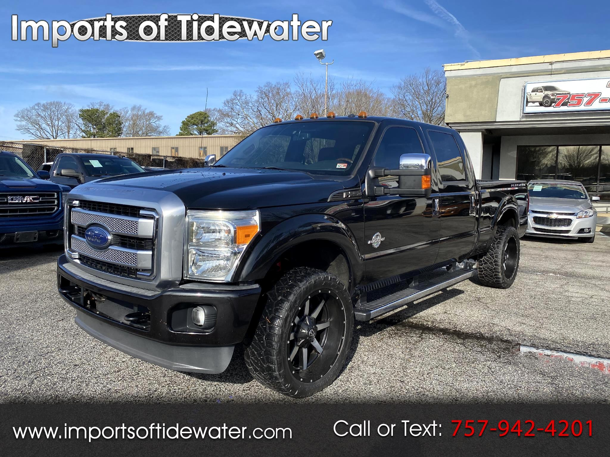 "Ford Super Duty F-250 SRW 4WD Crew Cab 156"" Platinum 2013"