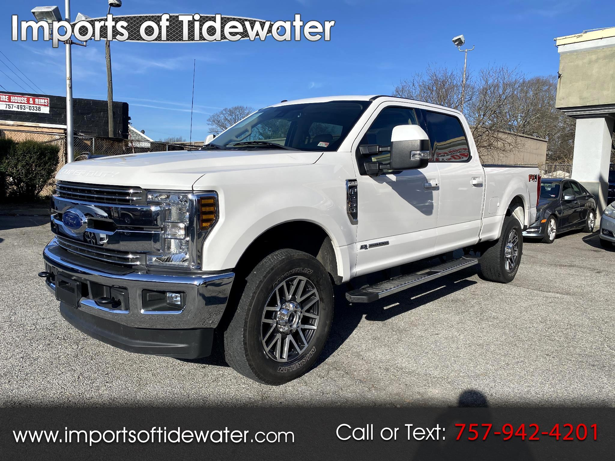 Ford Super Duty F-250 SRW Lariat 4WD Crew Cab 6.75' Box 2018