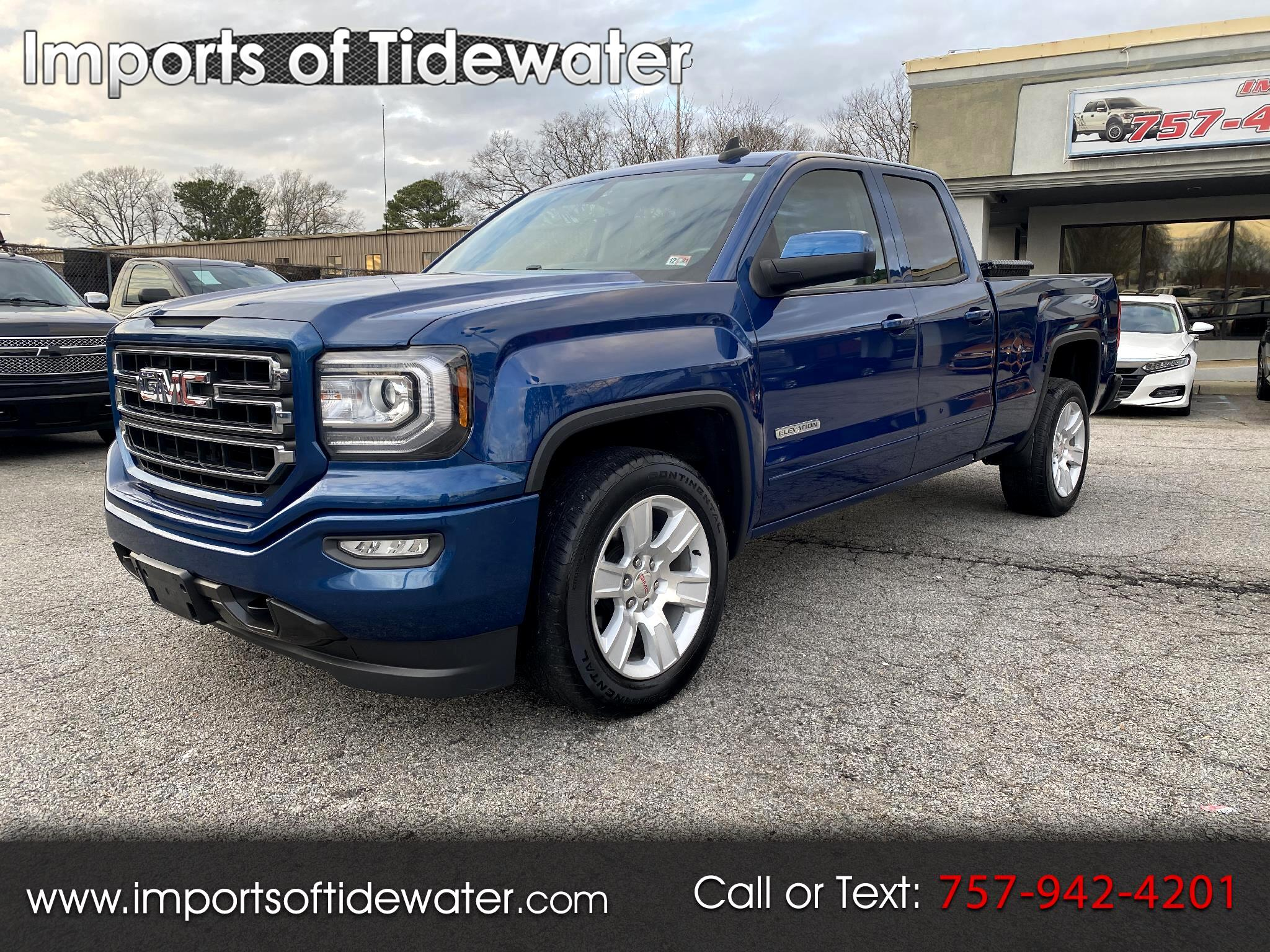 GMC Sierra 1500 Elevation Double Cab 2WD 2017