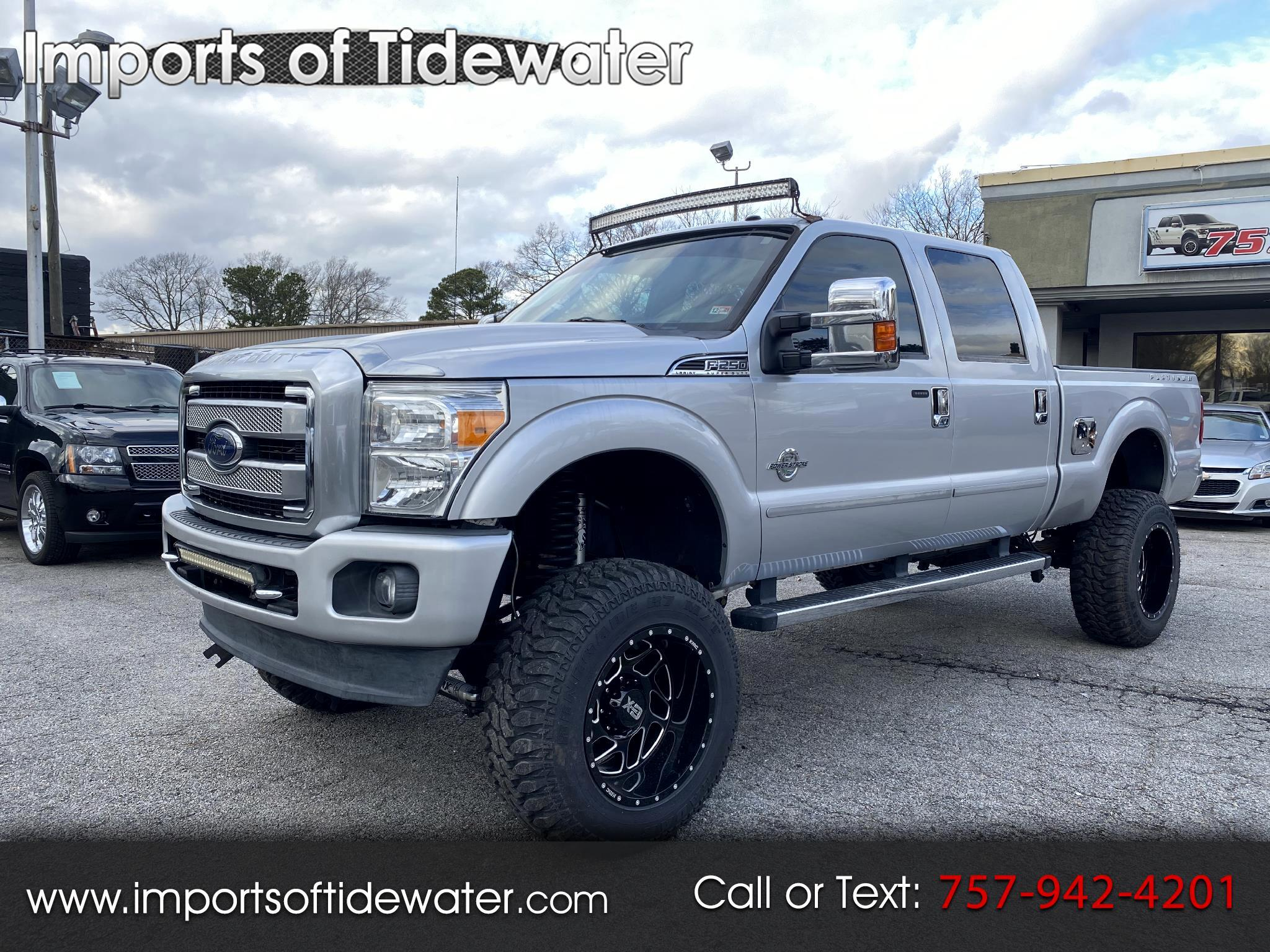 "Ford Super Duty F-250 SRW 4WD Crew Cab 156"" Platinum 2015"