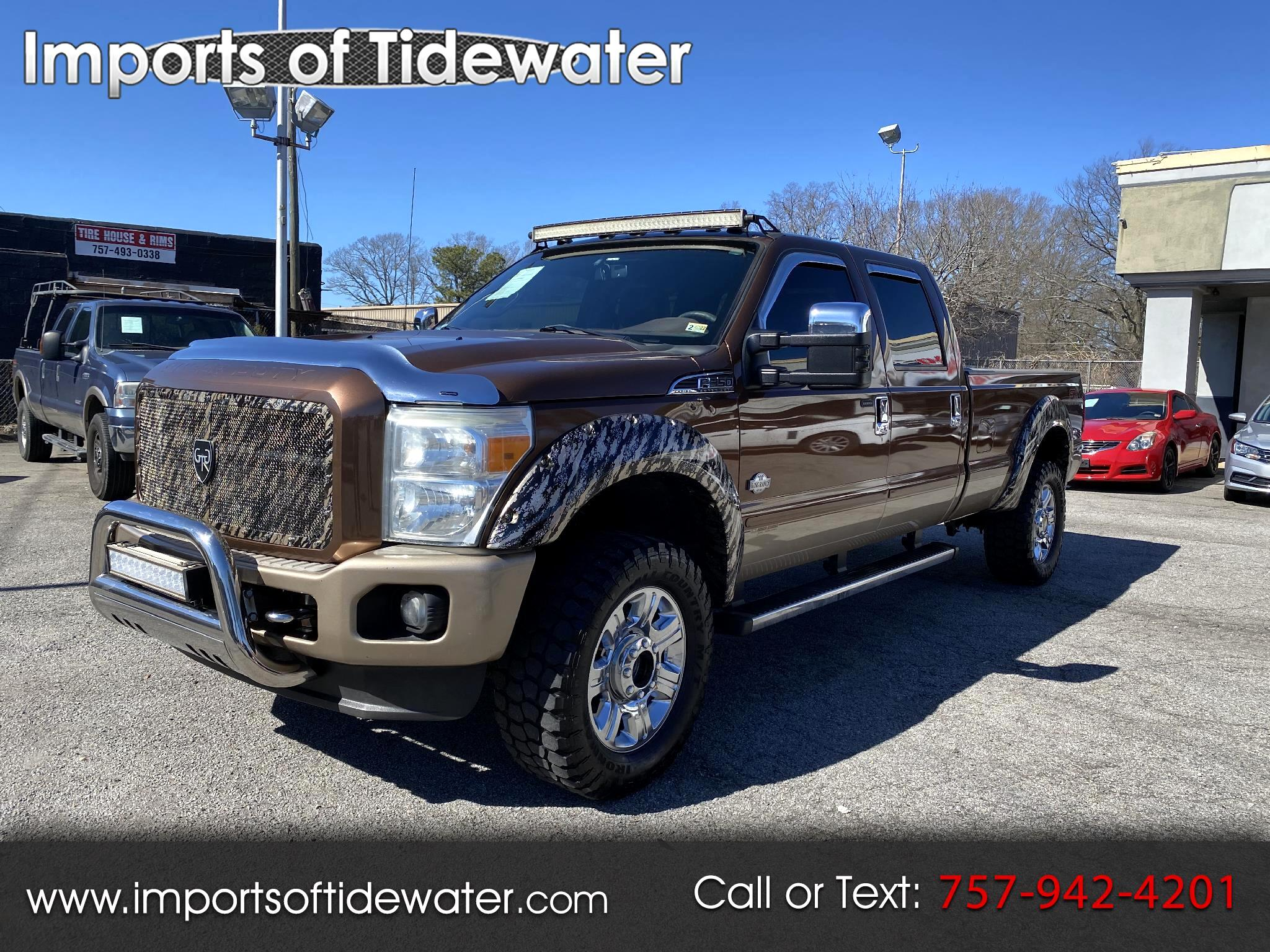 Ford F-350 SD King Ranch Crew Cab Long Bed 4WD 2012