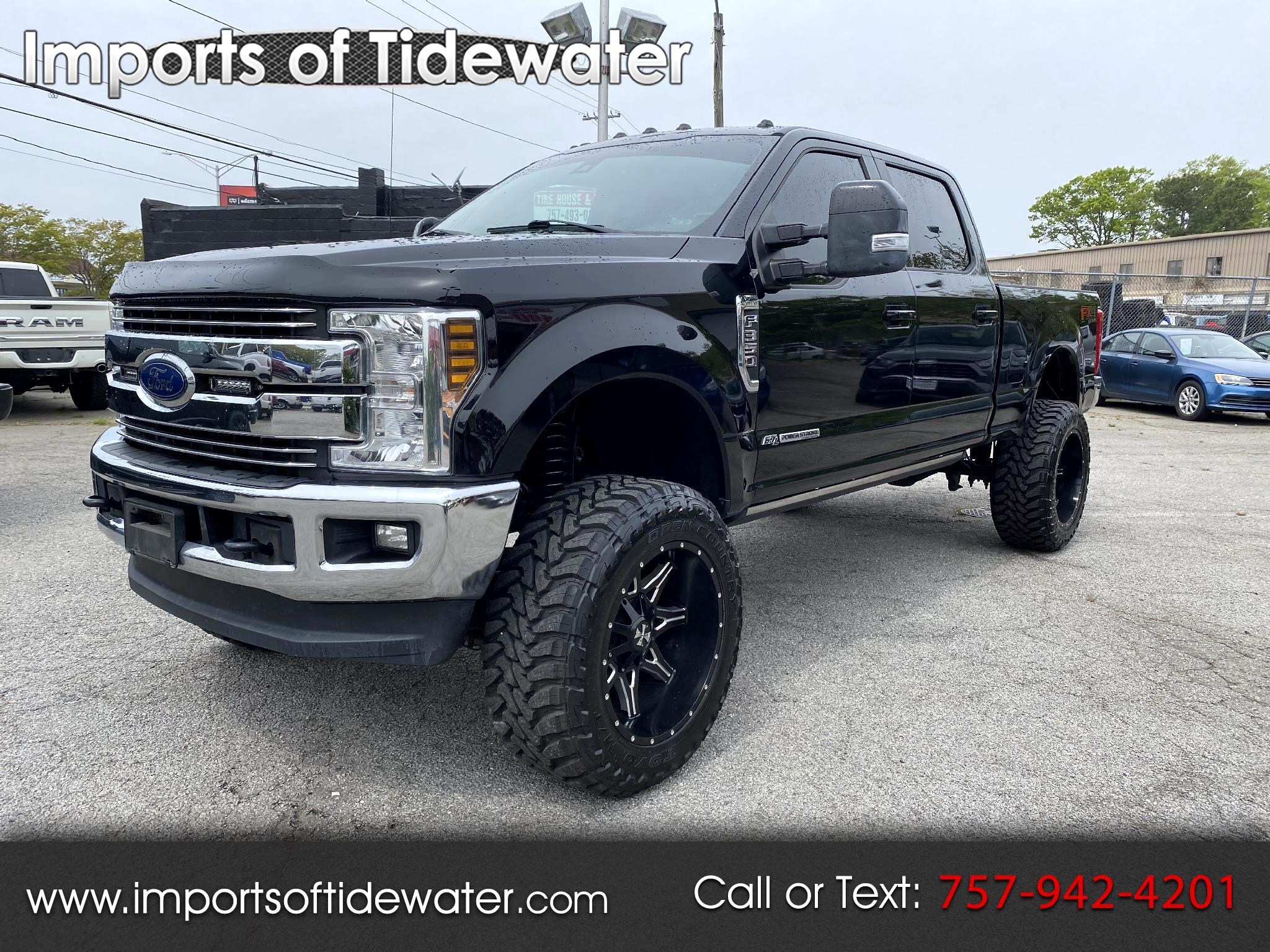 Ford Super Duty F-350 SRW Lariat 4WD Crew Cab 6.75' Box 2018