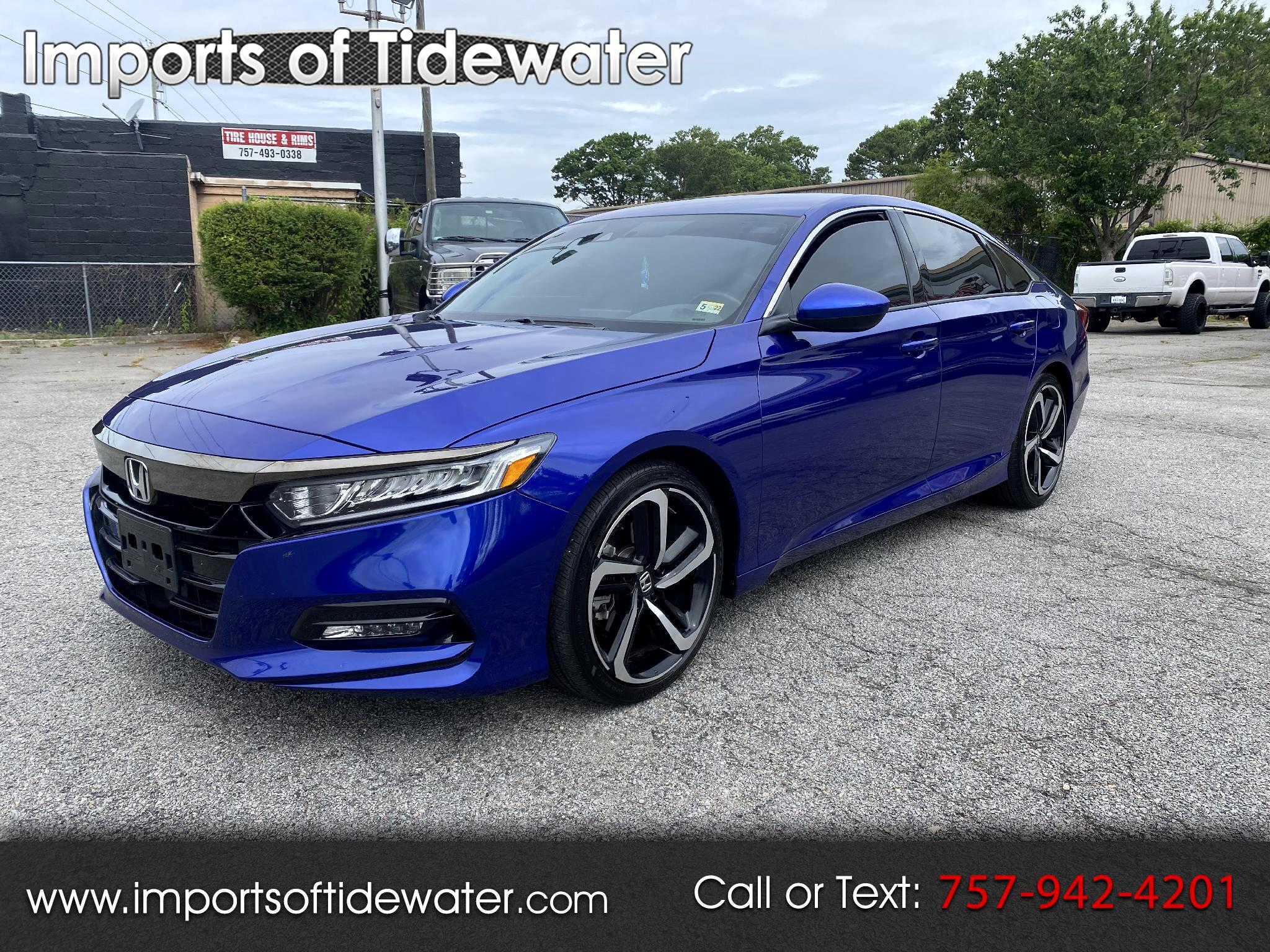 Honda Accord Sedan Sport CVT w/Honda Sensing 2020
