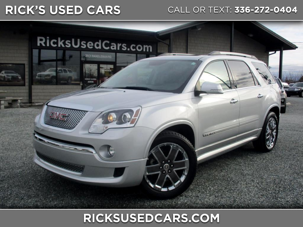 gmc drive white suv vehicles on tm mk door cars in wheel front sale ml for automatic denali iowa fwd used acadia dv gasoline
