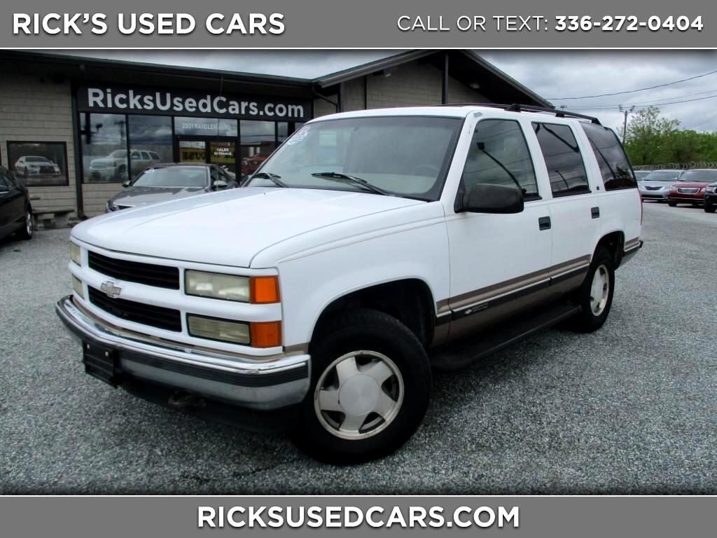 1997 Chevrolet Tahoe 4WD