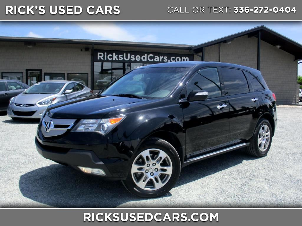 2009 Acura MDX AWD Tech Package