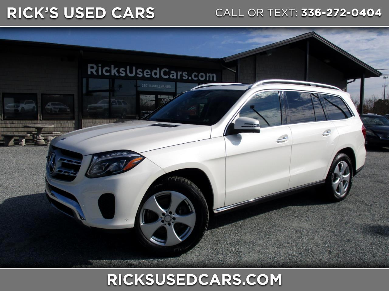 2017 Mercedes-Benz GLS 450 4MATIC AWD