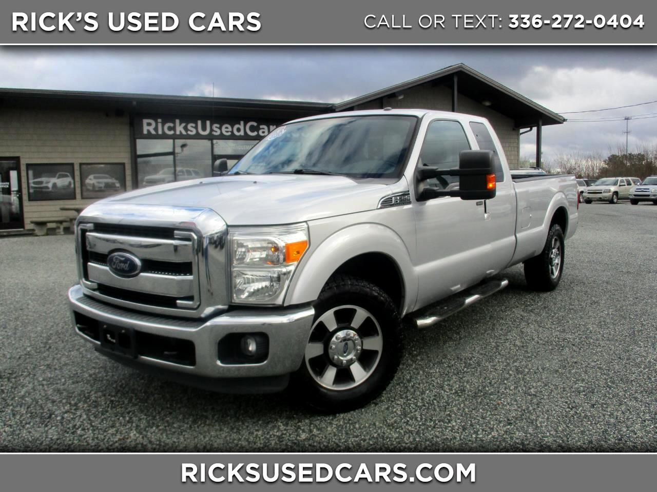 2014 Ford Super Duty F-250 SRW Lariat SuperCab Long Bed
