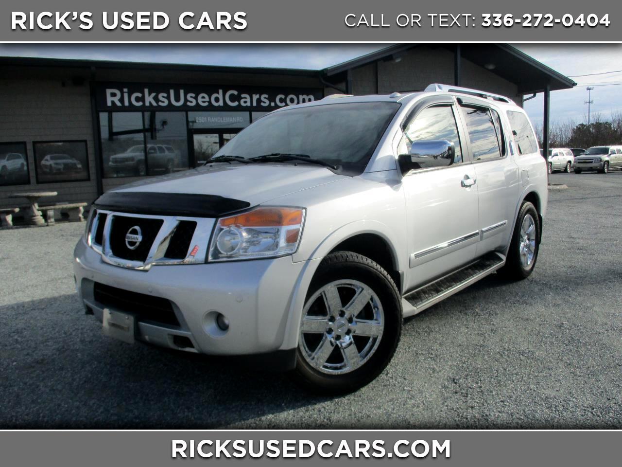 2012 Nissan Armada 2WD Platinum