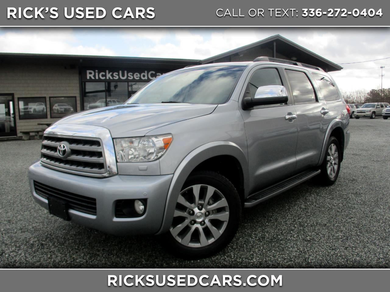 2014 Toyota Sequoia RWD 5.7L Limited