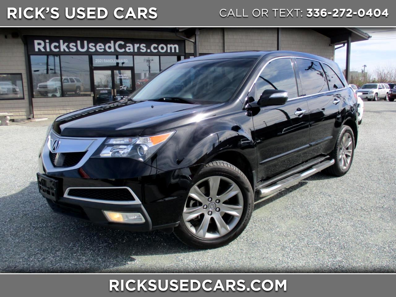 2011 Acura MDX AWD Advance Package