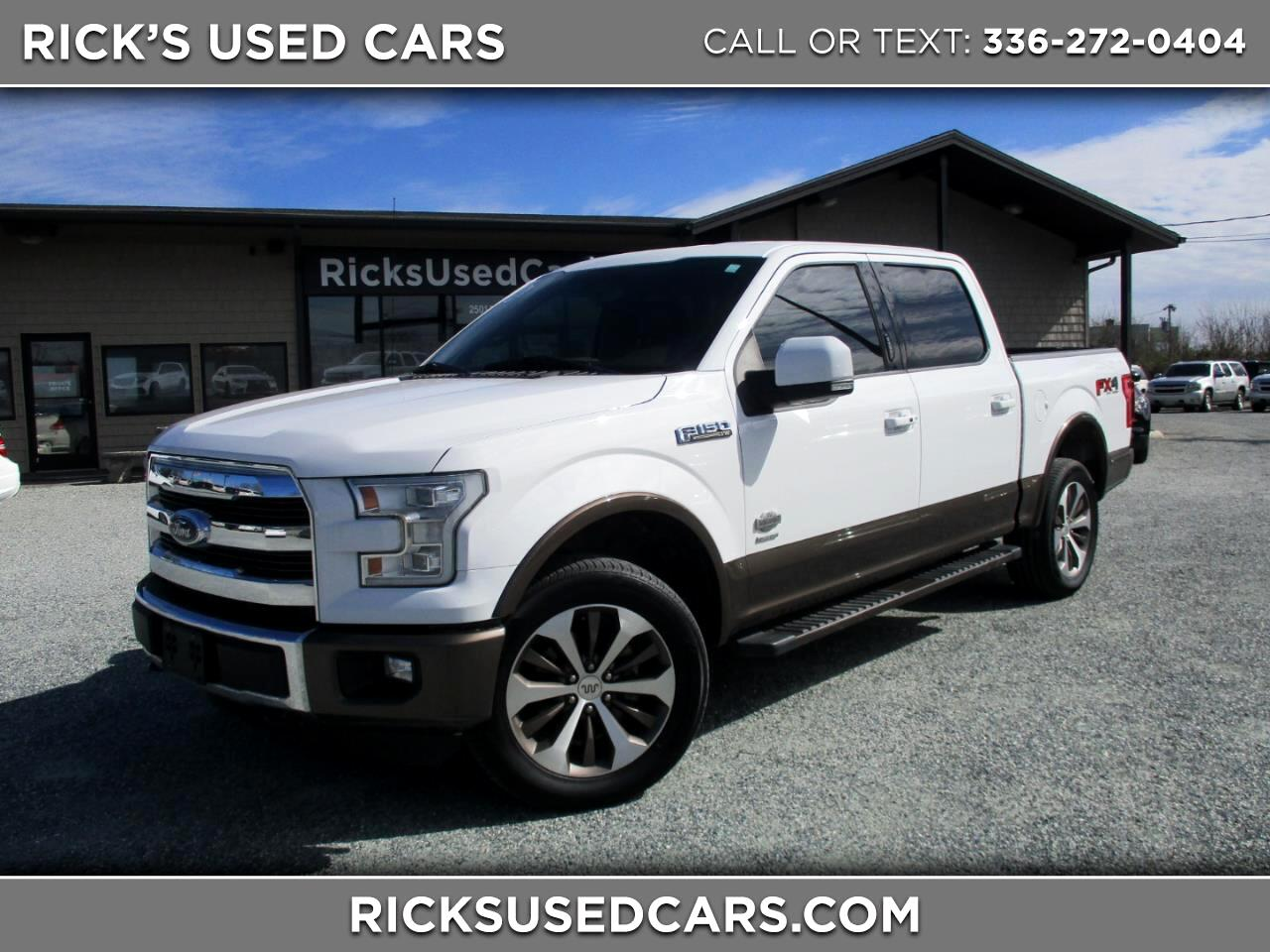 2015 Ford F-150 SuperCrew King Ranch 4WD