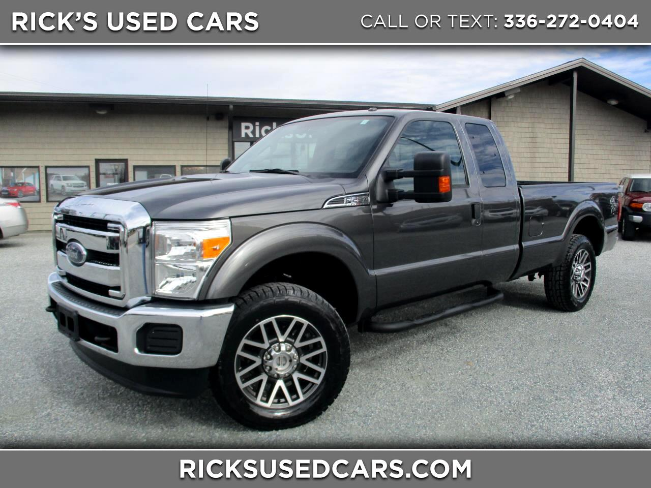 2015 Ford F-250 SD XLT SuperCab Long Bed 4WD