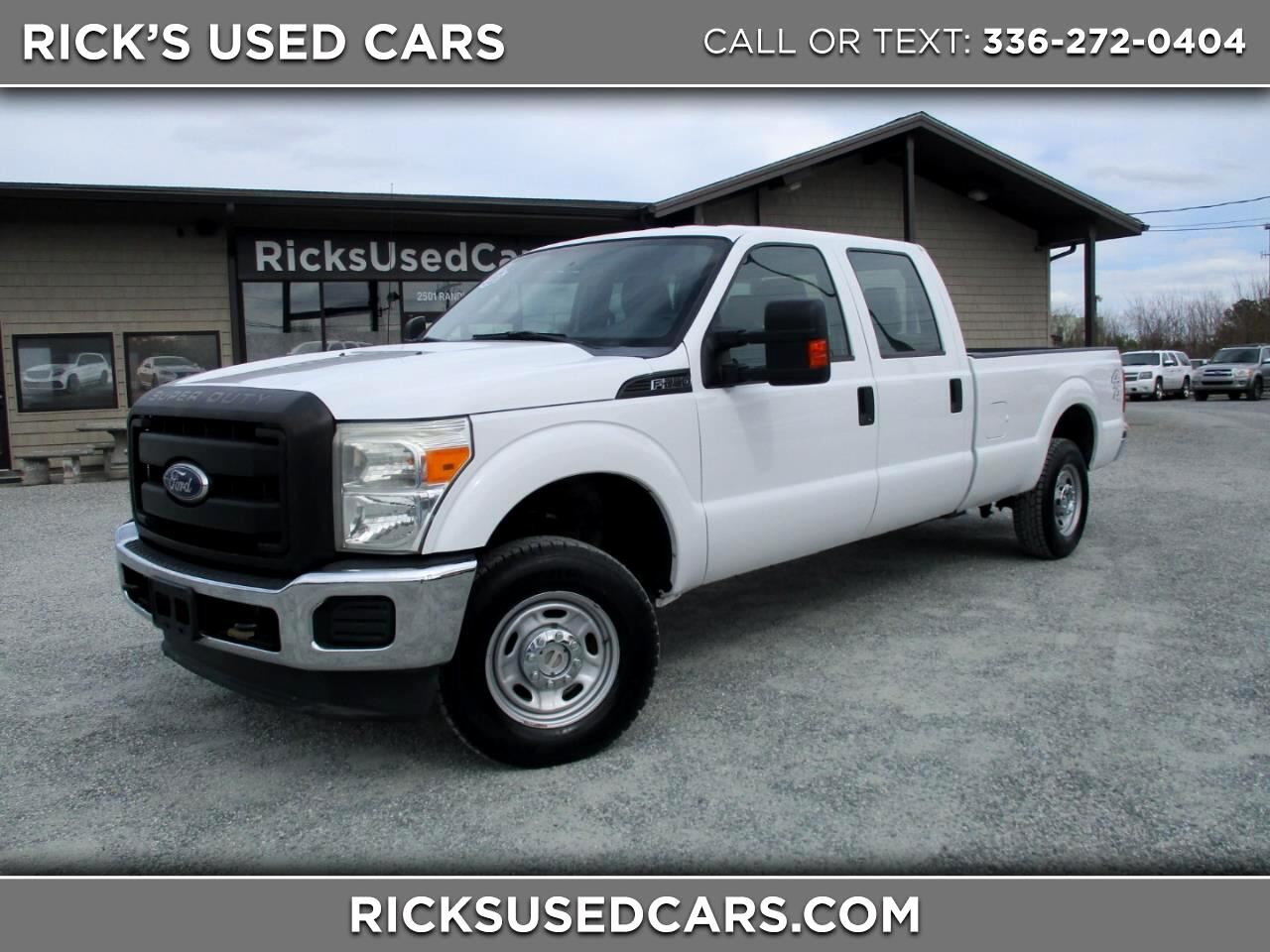 2011 Ford F-250 HD Crew Cab XL 4WD