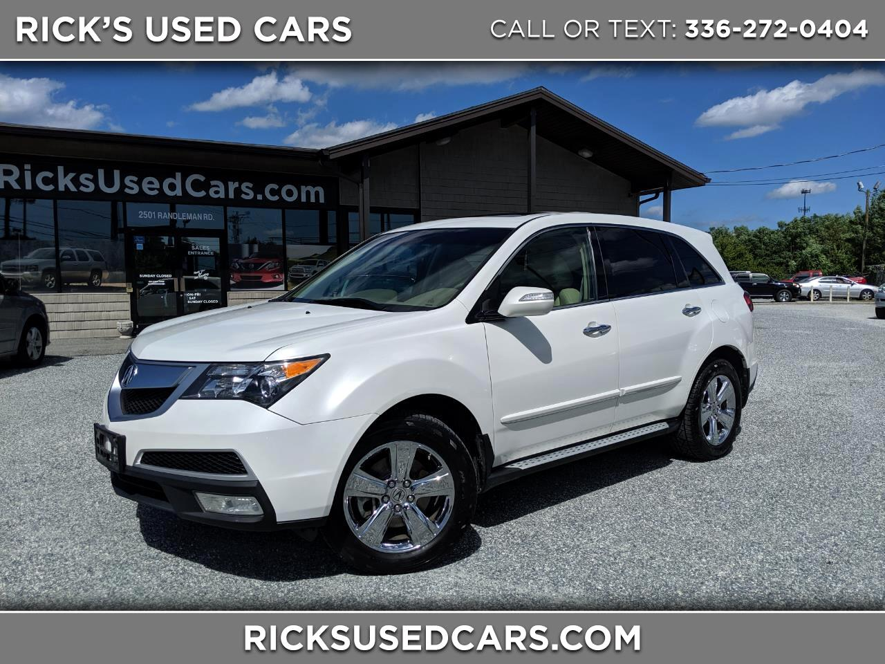 2012 Acura MDX Tech Package AWD