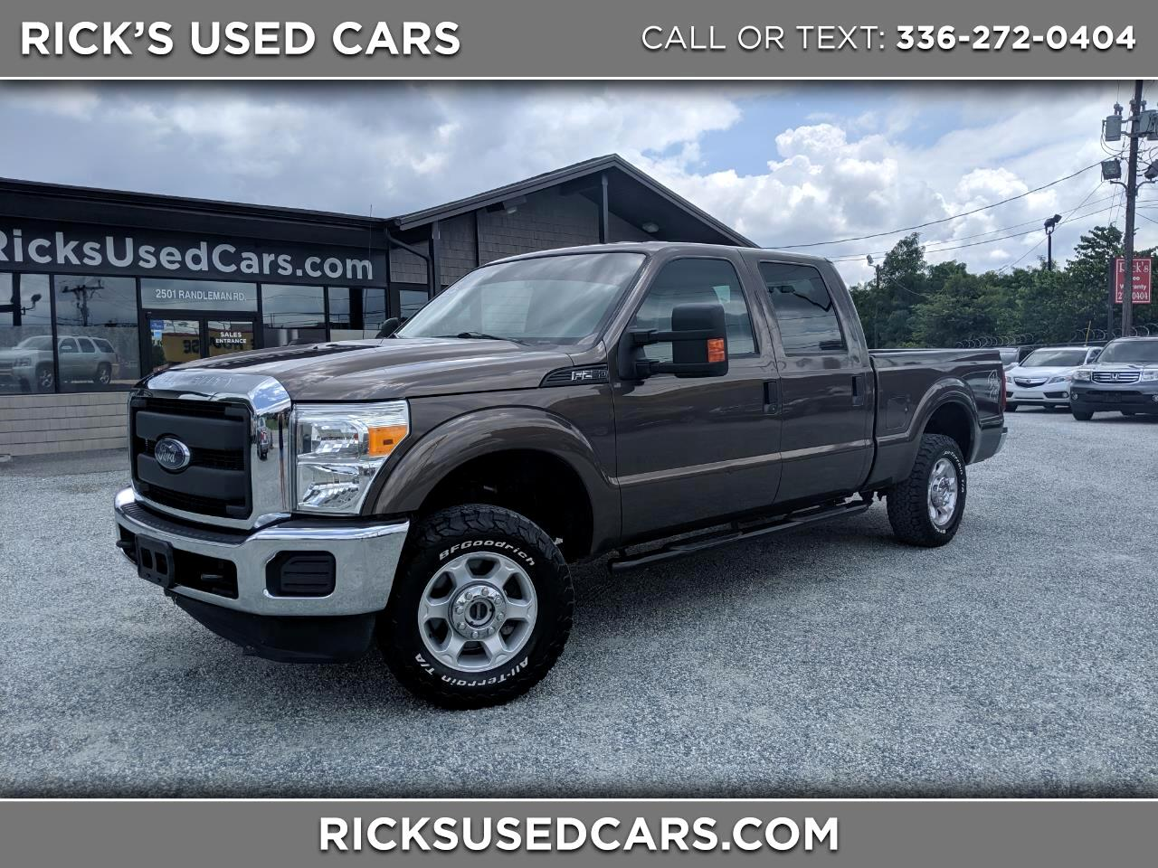 2016 Ford Super Duty F-250 XL Crew Cab 4WD