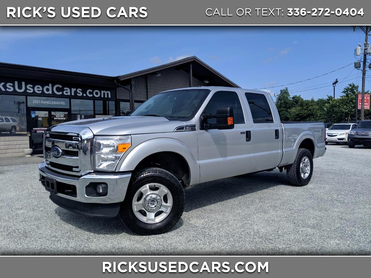 2016 Ford Super Duty F-250 XLT Crew Cab 4WD