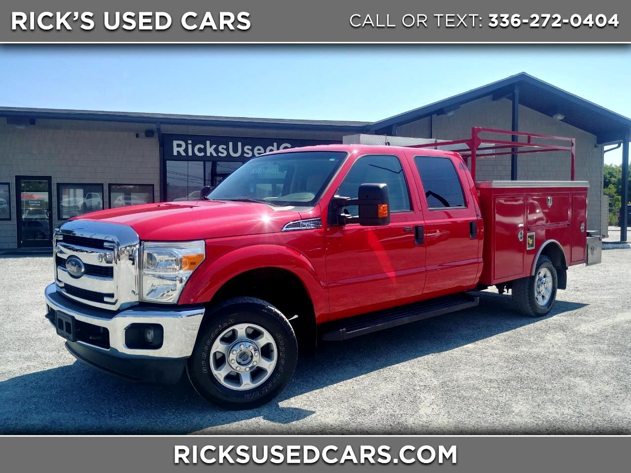 2013 Ford Super Duty F250 XLT Crew Cab 4WD