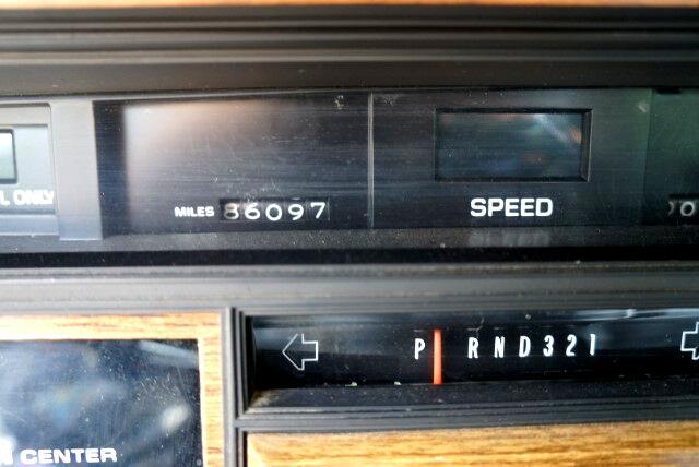 1985 Cadillac Seville 4dr Luxury Sdn SLS