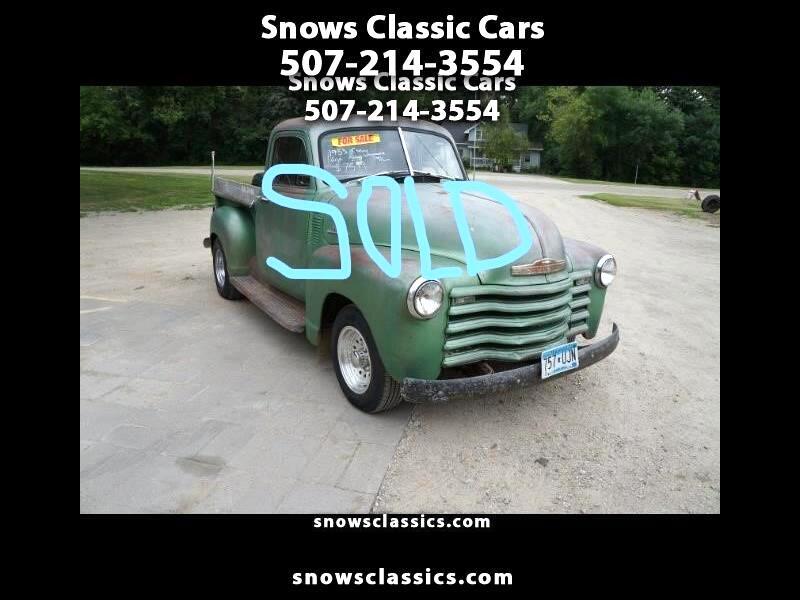 1953 Chevrolet 1/2 Ton Pickups